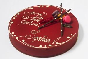 Tort personalizat Framboise